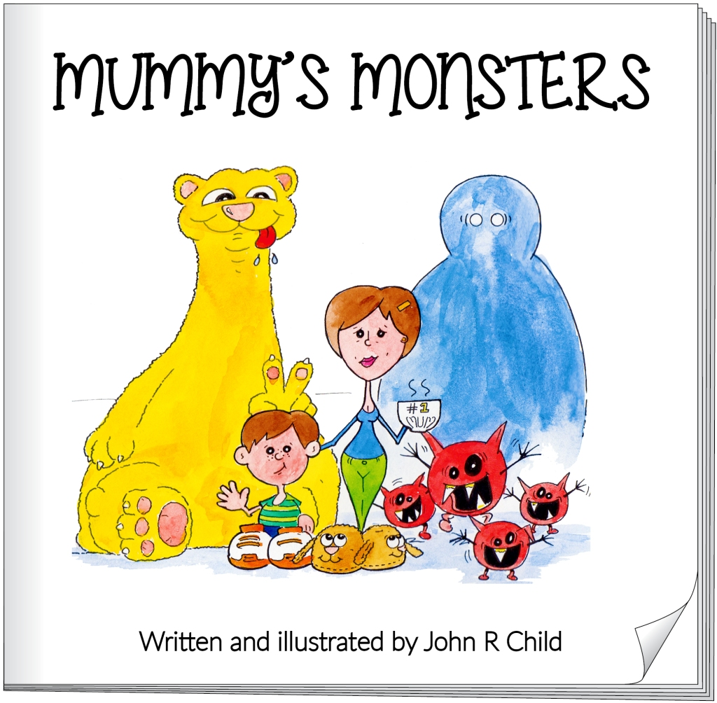 Mummys monsters_cover